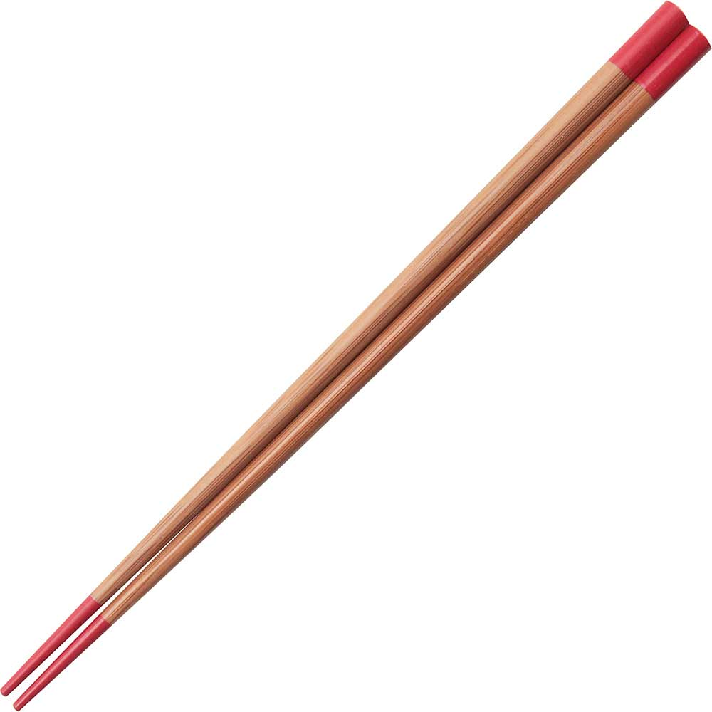 Bamboo Red Tipped Chopsticks