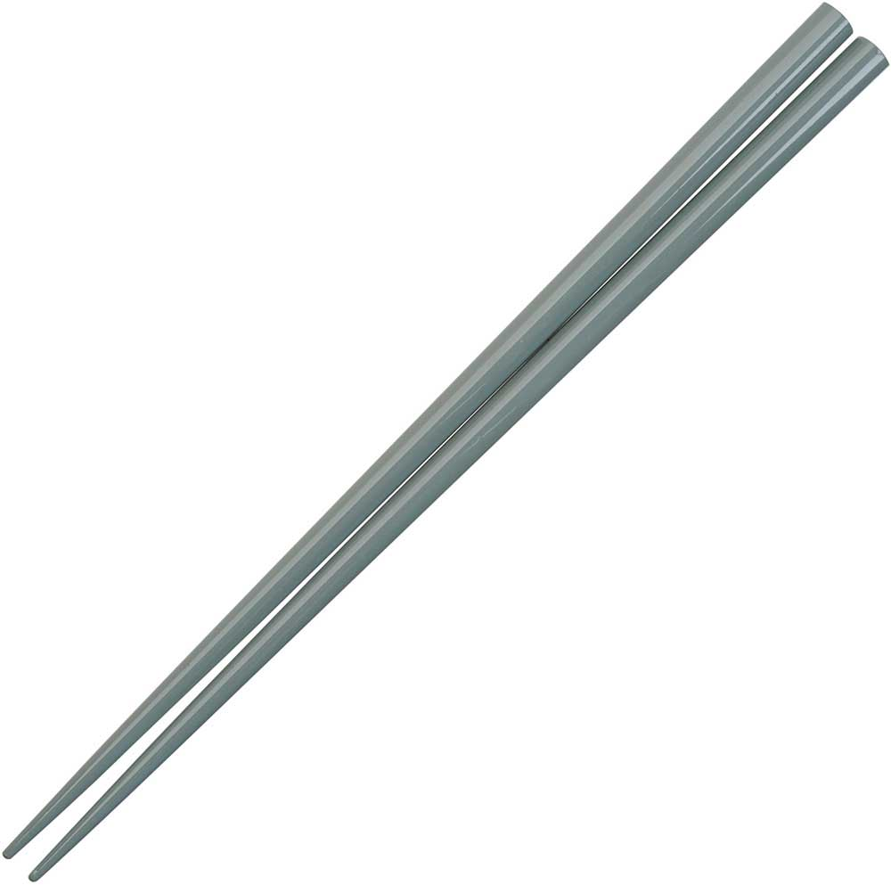 Gray Glossy Painted Japanese Style Chopsticks