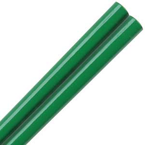 Kelly Green Glossy Painted Japanese Style Chopsticks