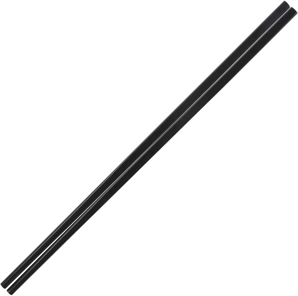 Melamine Plastic Dishwasher Safe Chinese Chopsticks in Black