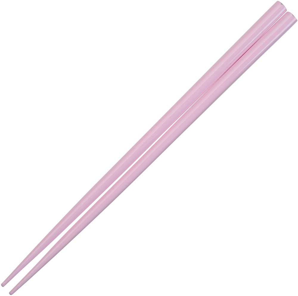 Pink Pastel Glossy Painted Japanese Style Chopsticks