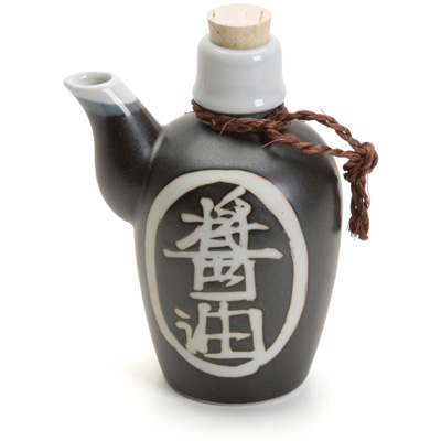 Ceramic Soy Sauce Dispenser with Cord