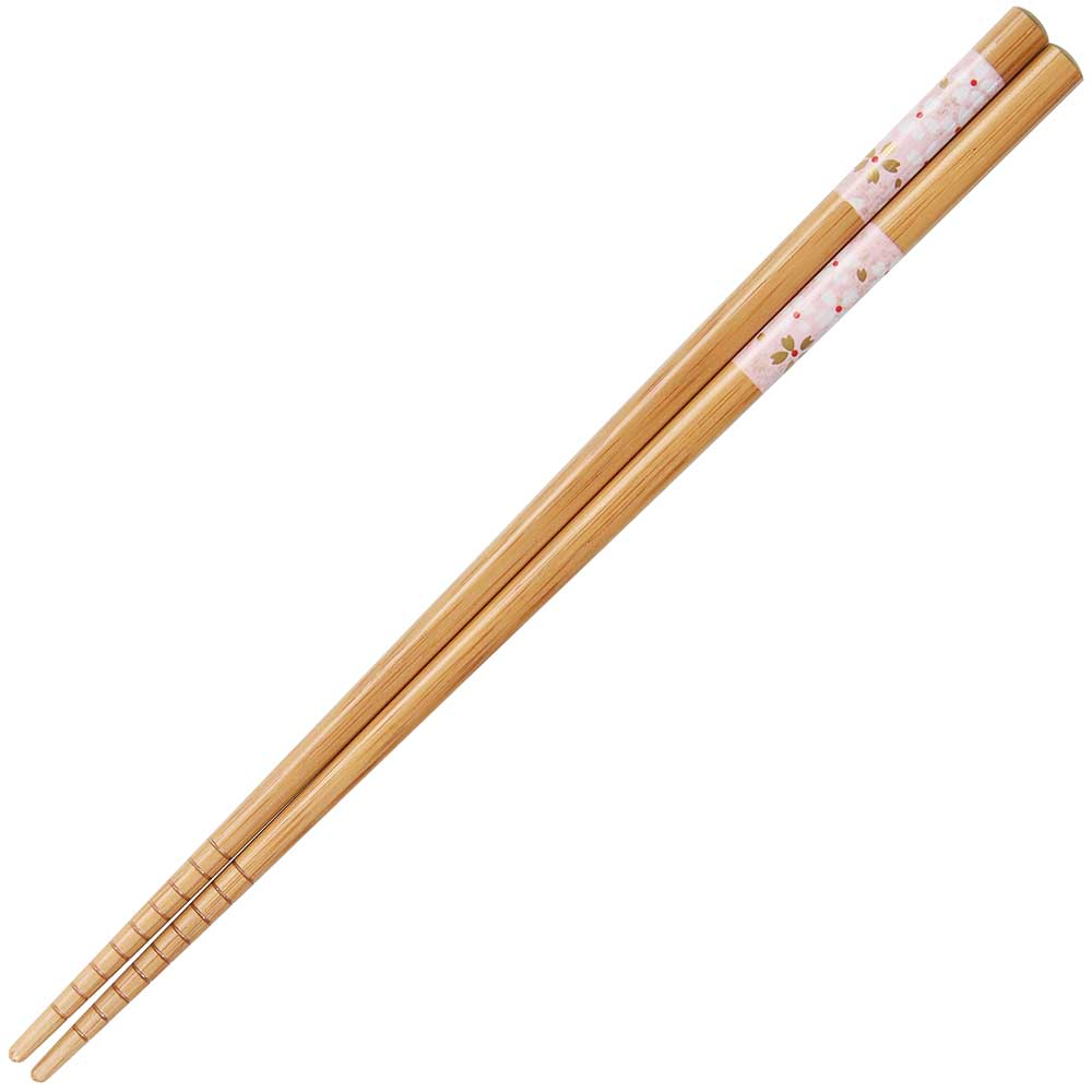 White Sakura Bamboo Chopsticks
