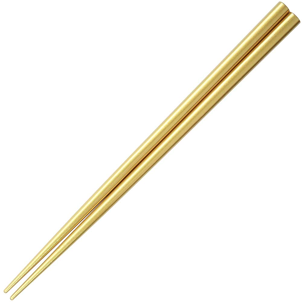 Gold Chopsticks Metallic